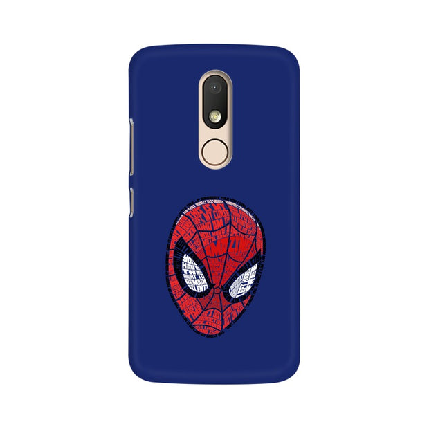 Moto M Spider Man Graphic Fan Art Phone Cover & Case