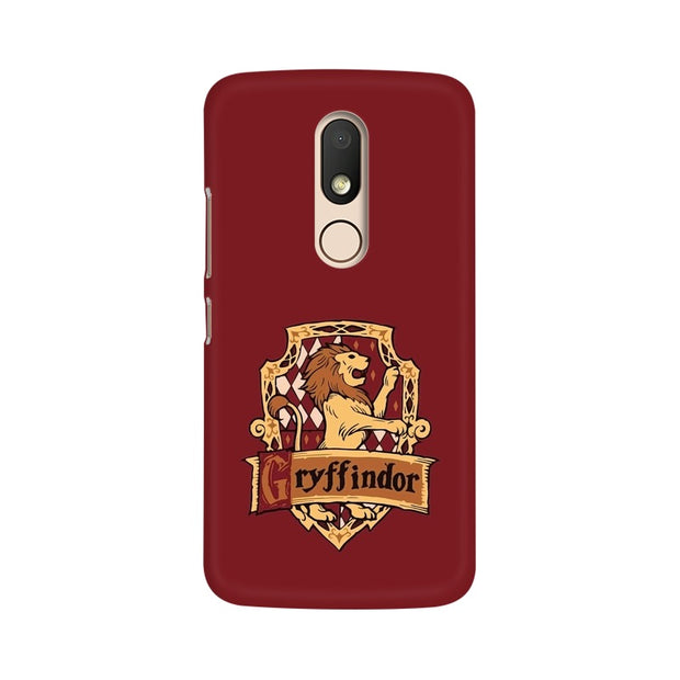 Moto M Gryffindor House Crest Harry Potter Phone Cover & Case