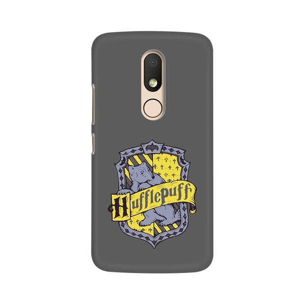 Moto M Hufflepuff House Crest Harry Potter Phone Cover & Case