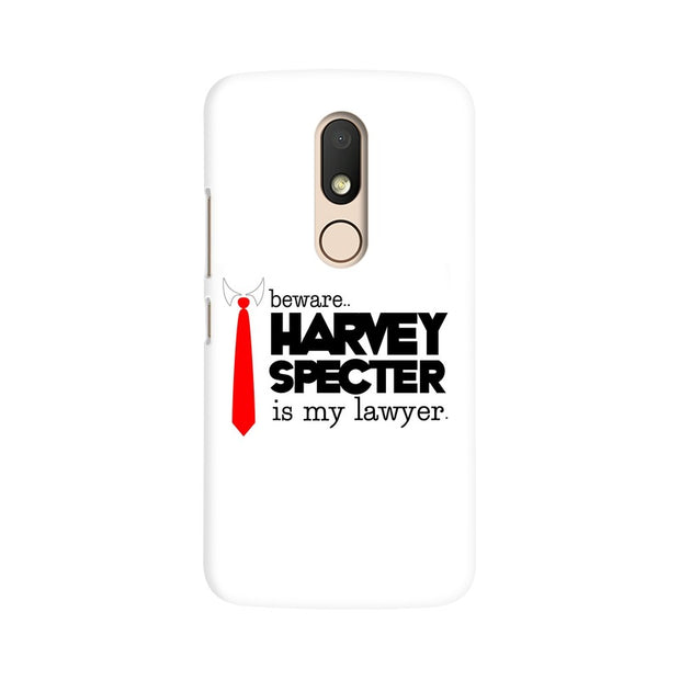 Moto M Harvey Spectre Is My Lawyer Suits Phone Cover & Case