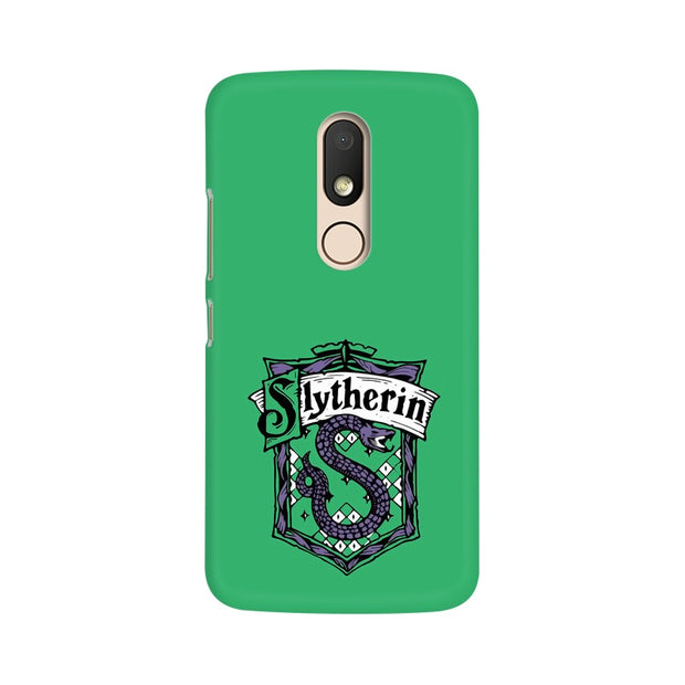 Moto M Slytherin House Crest Harry Potter Phone Cover & Case