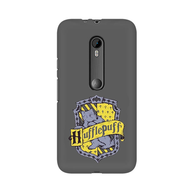 Moto X Style Hufflepuff House Crest Harry Potter Phone Cover & Case