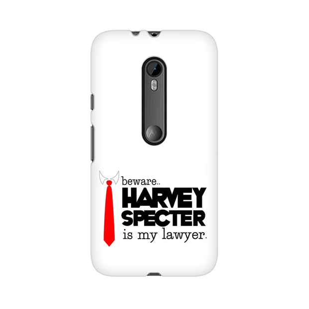 Moto X Style Harvey Spectre Is My Lawyer Suits Phone Cover & Case