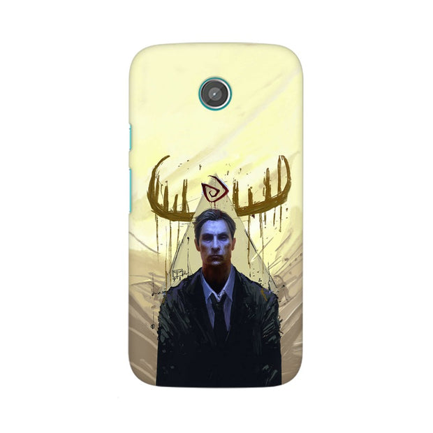 Moto X True Detective Rustin Fan Art Phone Cover & Case