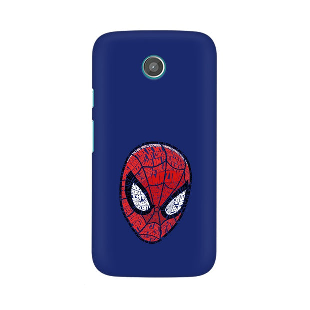 Moto X Spider Man Graphic Fan Art Phone Cover & Case