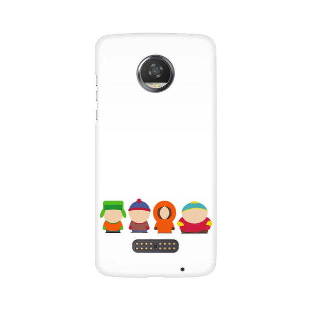Moto Z2 Play South Park Minimal Phone Cover & Case