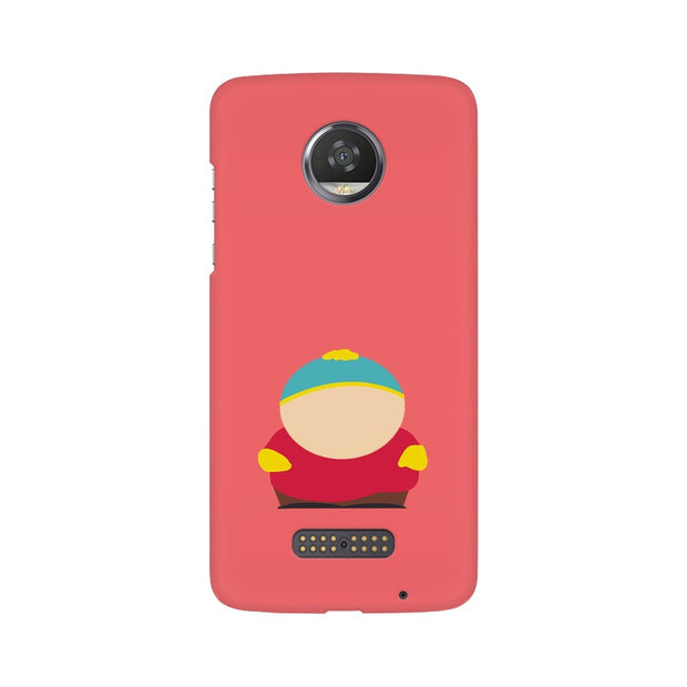 Moto Z2 Play Eric Cartman Minimal South Park Phone Cover & Case