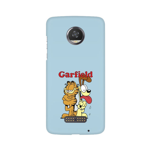 Moto Z2 Play Garfield & Odie Phone Cover & Case