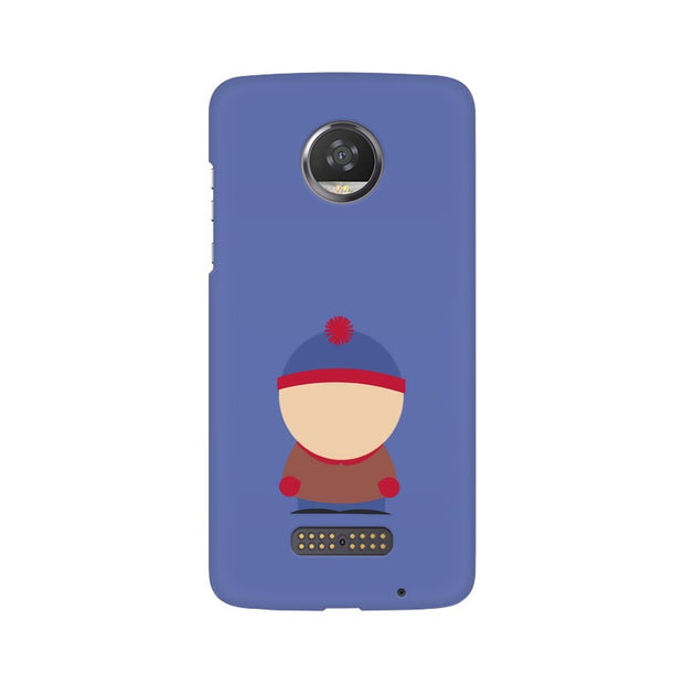 Moto Z2 Play Stan Marsh Minimal South Park Phone Cover & Case
