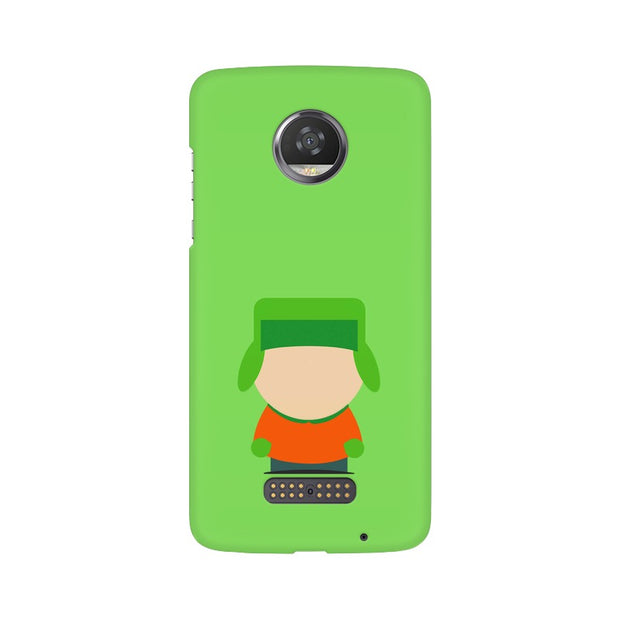 Moto Z2 Play Kyle Broflovski Minimal South Park Phone Cover & Case