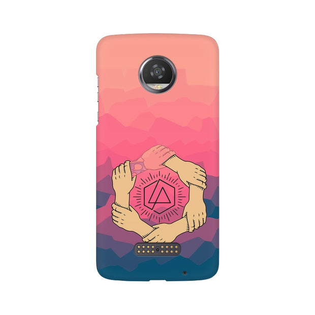 Moto Z2 Play Linkin Park Logo Chester Tribute Phone Cover & Case