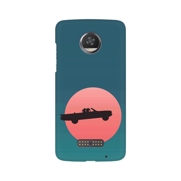 Moto Z2 Play Thelma & Louise Movie Minimal Phone Cover & Case