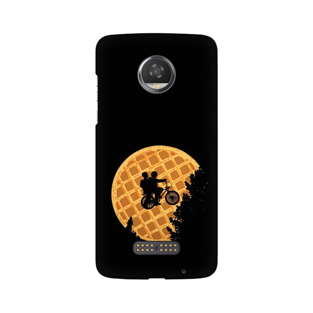Moto Z2 Play Stranger Things Pancake Minimal Phone Cover & Case