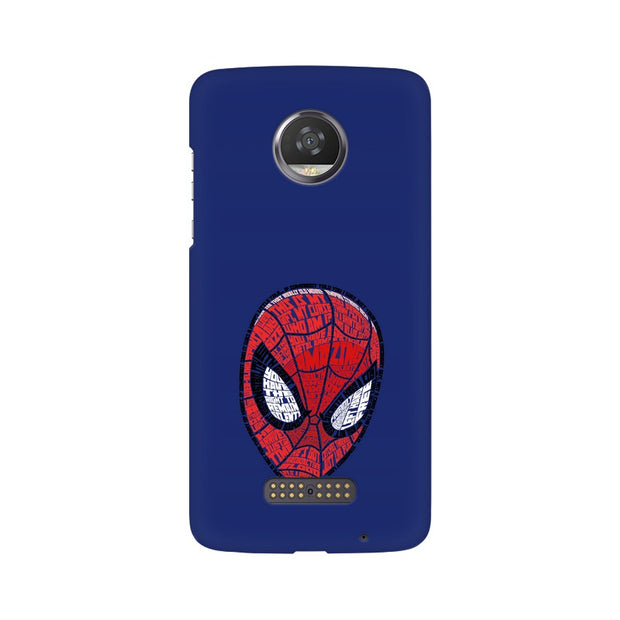Moto Z2 Play Spider Man Graphic Fan Art Phone Cover & Case