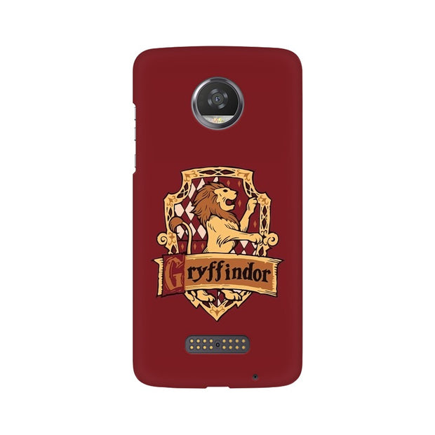 Moto Z2 Play Gryffindor House Crest Harry Potter Phone Cover & Case