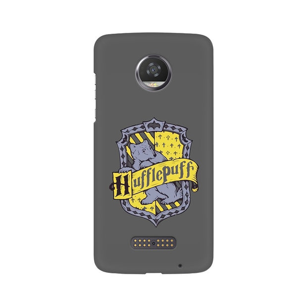 Moto Z2 Play Hufflepuff House Crest Harry Potter Phone Cover & Case