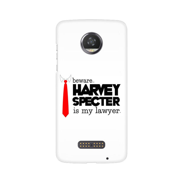 Moto Z2 Play Harvey Spectre Is My Lawyer Suits Phone Cover & Case