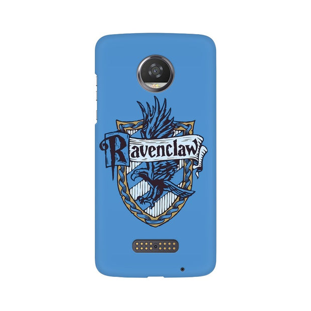 Moto Z2 Play Ravenclaw House Crest Harry Potter Phone Cover & Case