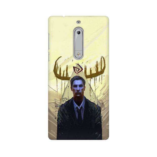 Nokia 5 True Detective Rustin Fan Art Phone Cover & Case