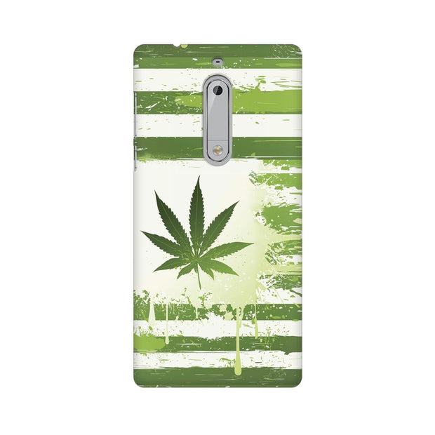 Nokia 5 Weed Flag  Phone Cover & Case