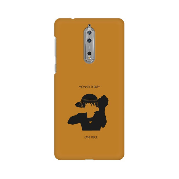 Nokia 8 Monkey D Luffy One Piece Minimal Phone Cover & Case