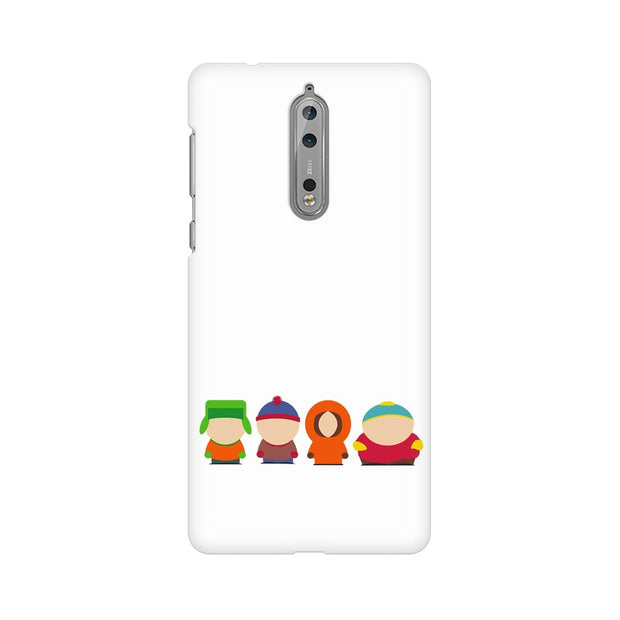 Nokia 8 South Park Minimal Phone Cover & Case