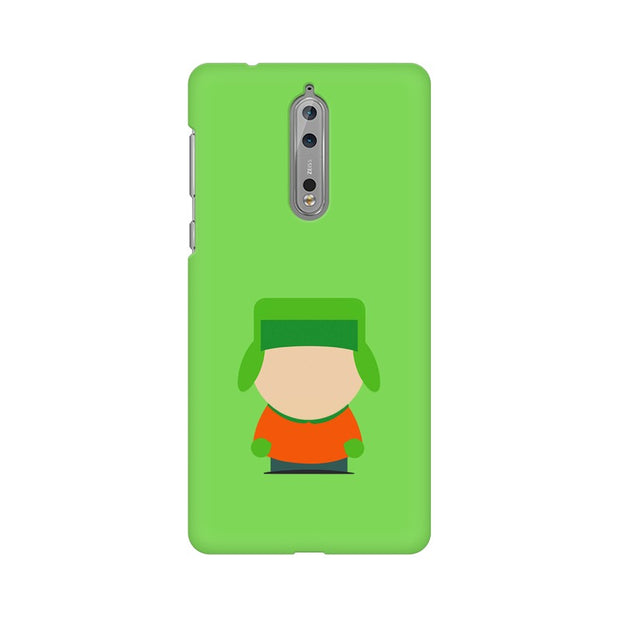 Nokia 8 Kyle Broflovski Minimal South Park Phone Cover & Case