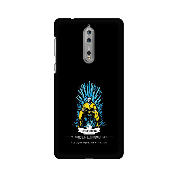 Nokia 8 Walter White on Iron Throne Phone Cover & Case