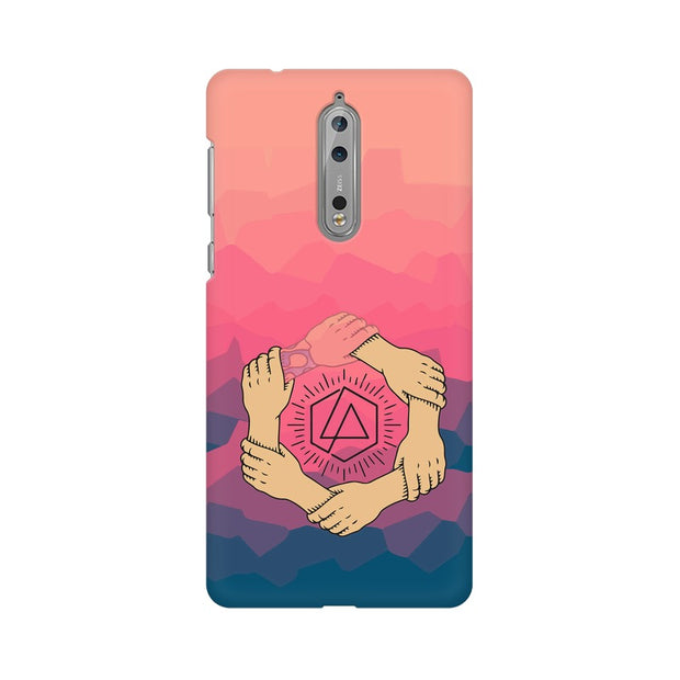 Nokia 8 Linkin Park Logo Chester Tribute Phone Cover & Case
