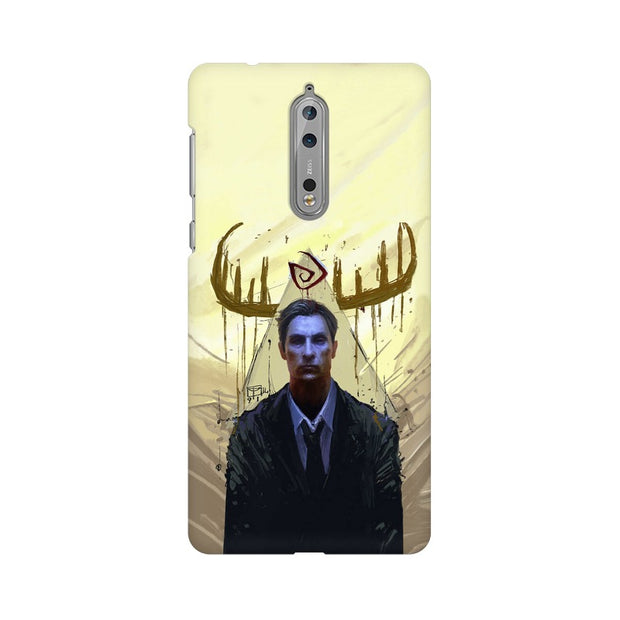 Nokia 8 True Detective Rustin Fan Art Phone Cover & Case