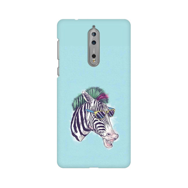 Nokia 8 The Zebra Style Cool Phone Cover & Case