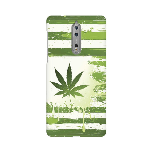 Nokia 8 Weed Flag  Phone Cover & Case