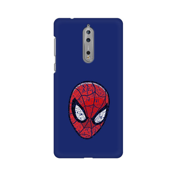 Nokia 8 Spider Man Graphic Fan Art Phone Cover & Case