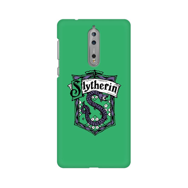 Nokia 8 Slytherin House Crest Harry Potter Phone Cover & Case