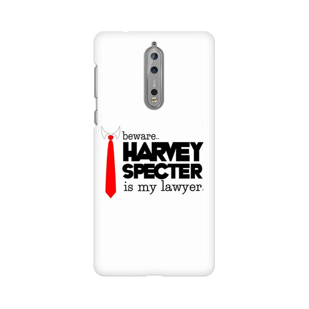 Nokia 8 Harvey Spectre Is My Lawyer Suits Phone Cover & Case