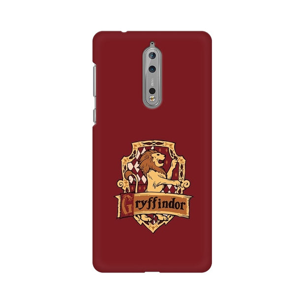 Nokia 8 Gryffindor House Crest Harry Potter Phone Cover & Case