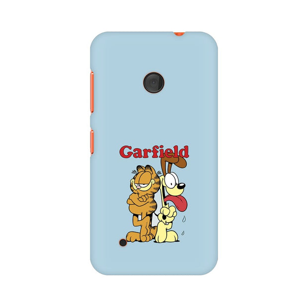 Nokia Lumia 530 Garfield & Odie Phone Cover & Case