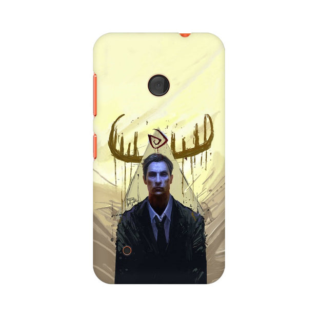 Nokia Lumia 530 True Detective Rustin Fan Art Phone Cover & Case