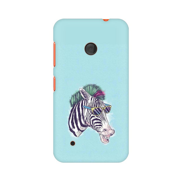 Nokia Lumia 530 The Zebra Style Cool Phone Cover & Case