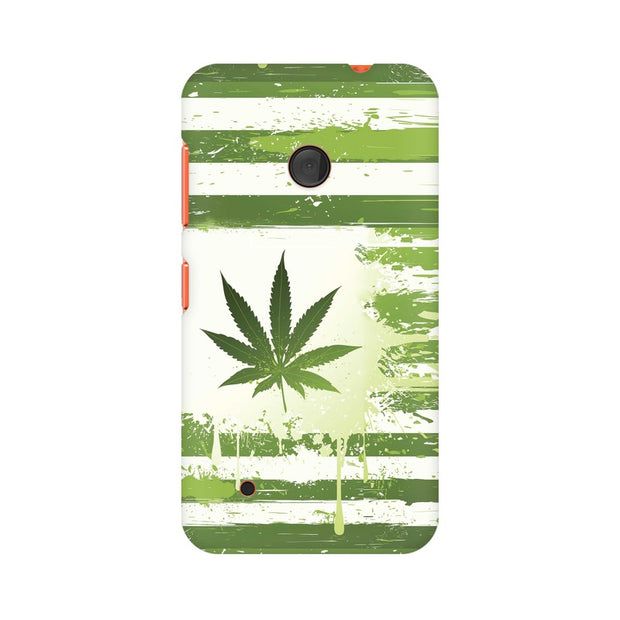 Nokia Lumia 530 Weed Flag  Phone Cover & Case