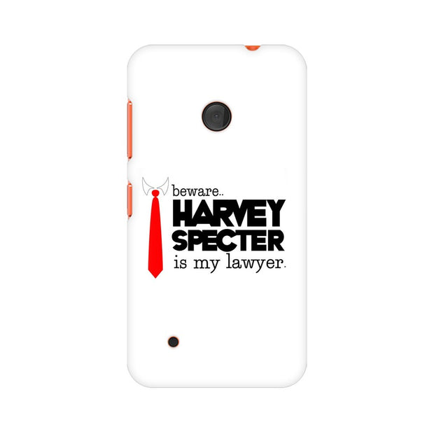 Nokia Lumia 530 Harvey Spectre Is My Lawyer Suits Phone Cover & Case