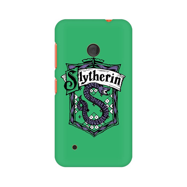 Nokia Lumia 530 Slytherin House Crest Harry Potter Phone Cover & Case