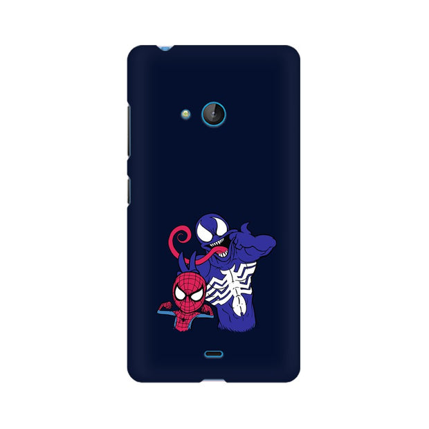 Nokia Lumia 540 Spider Man & Venom Funny Phone Cover & Case