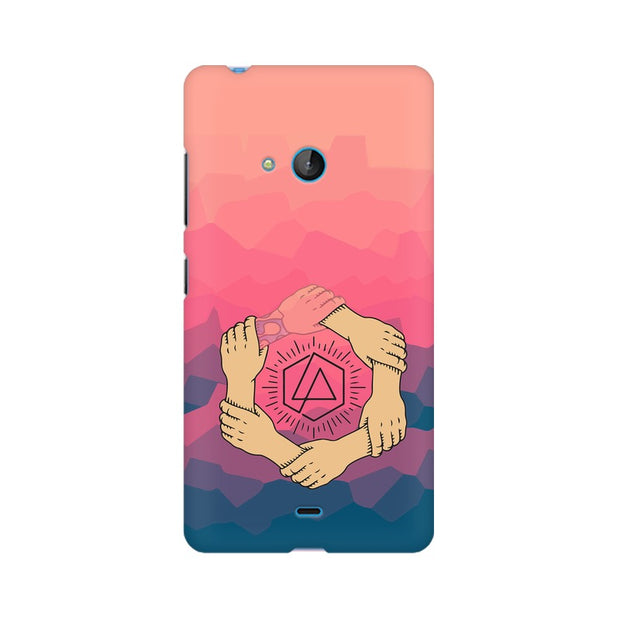 Nokia Lumia 540 Linkin Park Logo Chester Tribute Phone Cover & Case