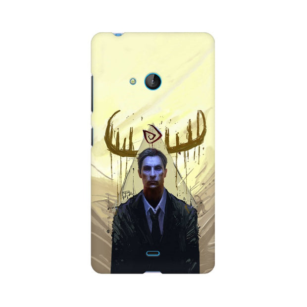 Nokia Lumia 540 True Detective Rustin Fan Art Phone Cover & Case