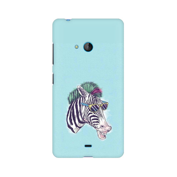 Nokia Lumia 540 The Zebra Style Cool Phone Cover & Case