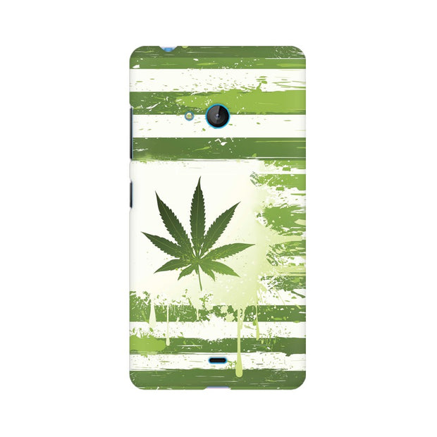 Nokia Lumia 540 Weed Flag  Phone Cover & Case