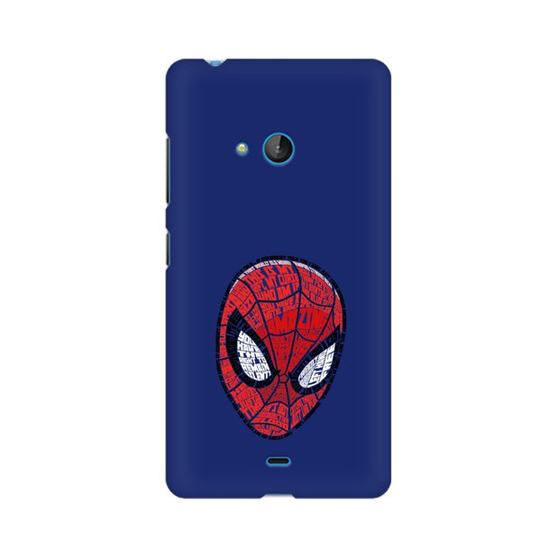 Nokia Lumia 540 Spider Man Graphic Fan Art Phone Cover & Case