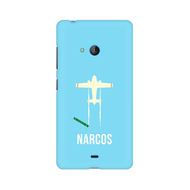 Nokia Lumia 540 Narcos TV Series  Minimal Fan Art Phone Cover & Case