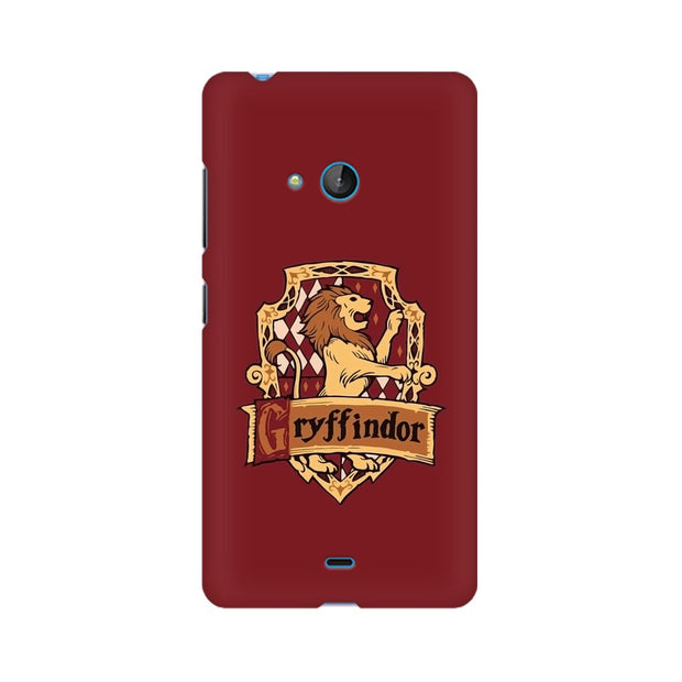Nokia Lumia 540 Gryffindor House Crest Harry Potter Phone Cover & Case